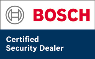 Bosch certified security dealer logo
